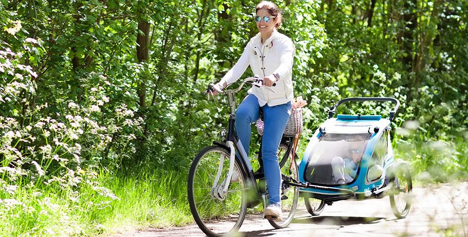 Cykla säkert med Thule cykelvagn